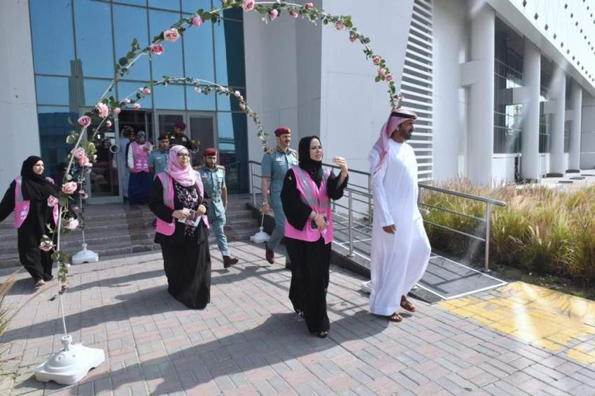 دفاع مدني دبي يطلق حملة أكتوبر الوردي للتوعية بسرطان الثدي