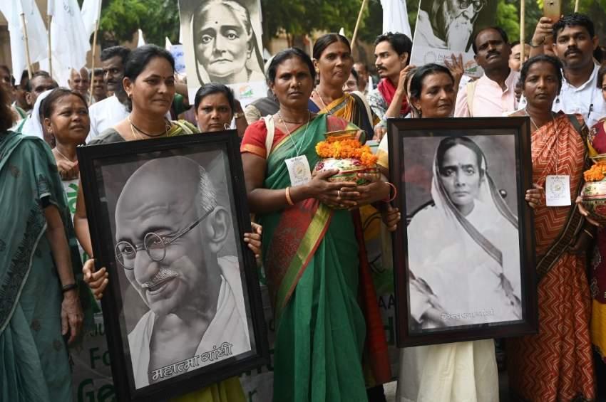 الهند تحيي الذكرى الـ50 بعد المئة لميلاد غاندي
