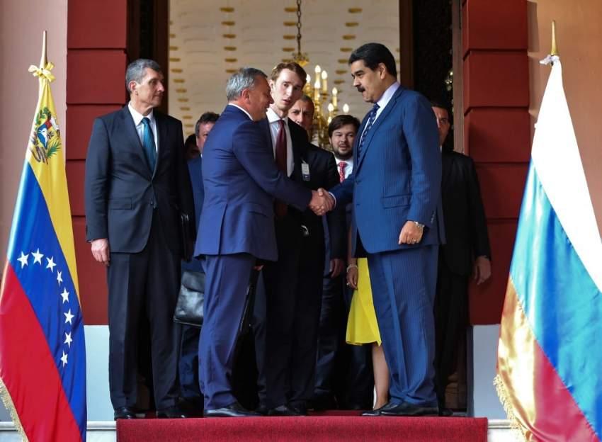 فنزويلا وروسيا تجددان تعاونهما بمجال الطاقة والجيش