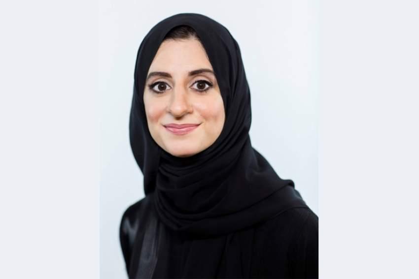 هدى الهاشمي مساعدة المدير العام للاستراتيجية والابتكار في مكتب رئاسة مجلس الوزراء بوزارة شؤون مجلس الوزراء والمستقبل