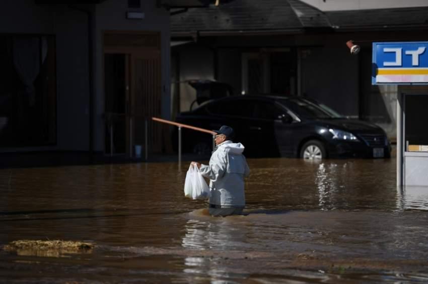 ضحايا إعصار اليابان يصلون إلى ثمانية وفقدان العشرات
