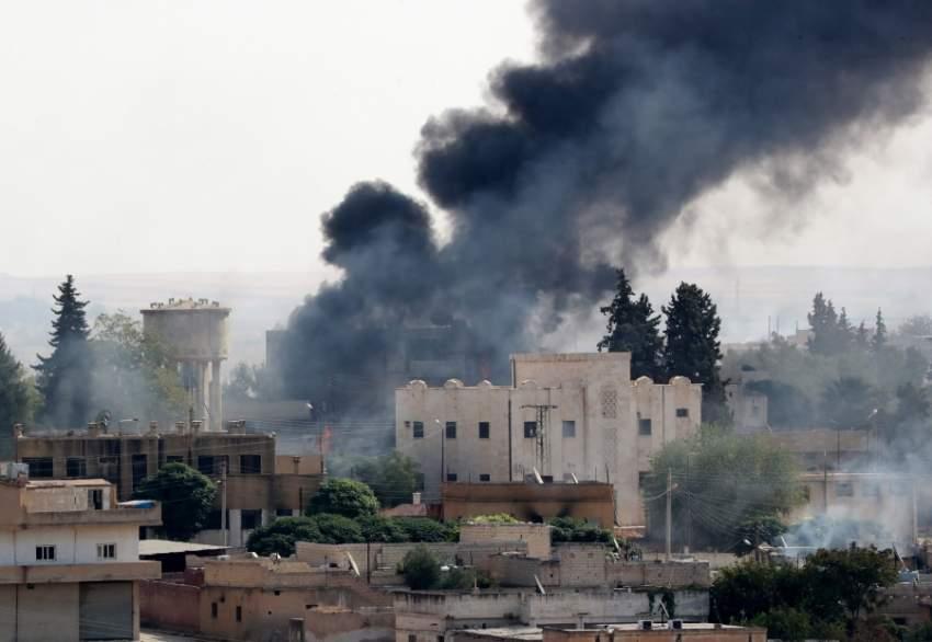 القصف التركي على بلدات شمال سوريا يتواصل لليوم الخمس (إي بي أيه)