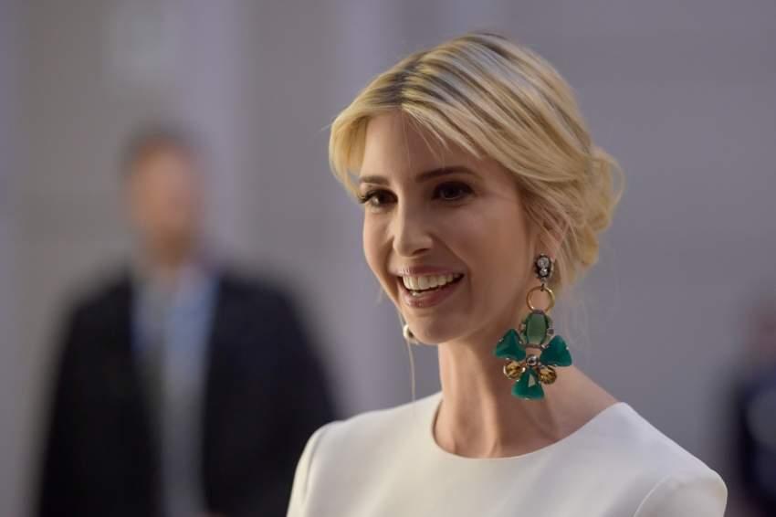 تشغل إيفانكا حالياً منصب مستشارة لوالدها الرئيس الأمريكي دونالد ترامب
