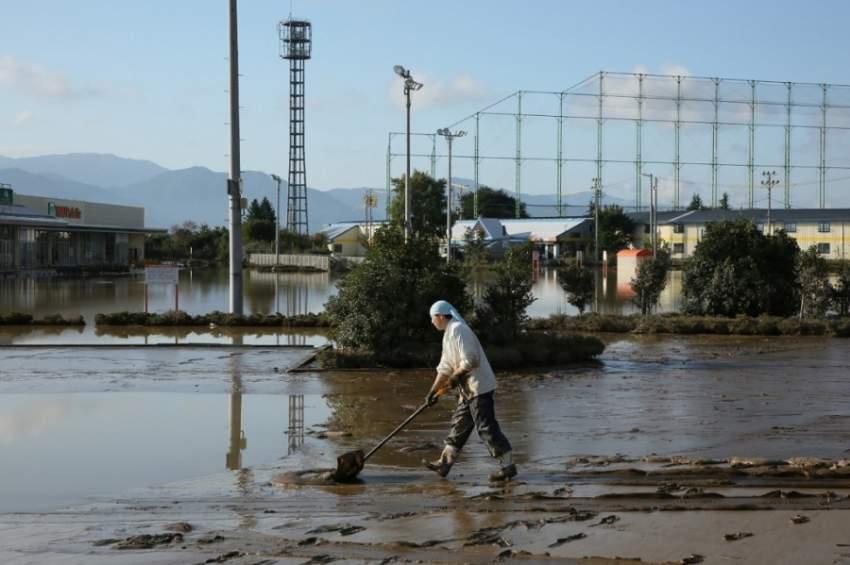 اليابان تعتزم تخصيص 6.5 مليون دولار للتعامل مع آثار الإعصار هاجيبيس