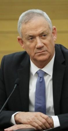 """بين جانتس زعيم حزب """"أزرق أبيض"""" الإسرائيلي (إي بي أيه)"""