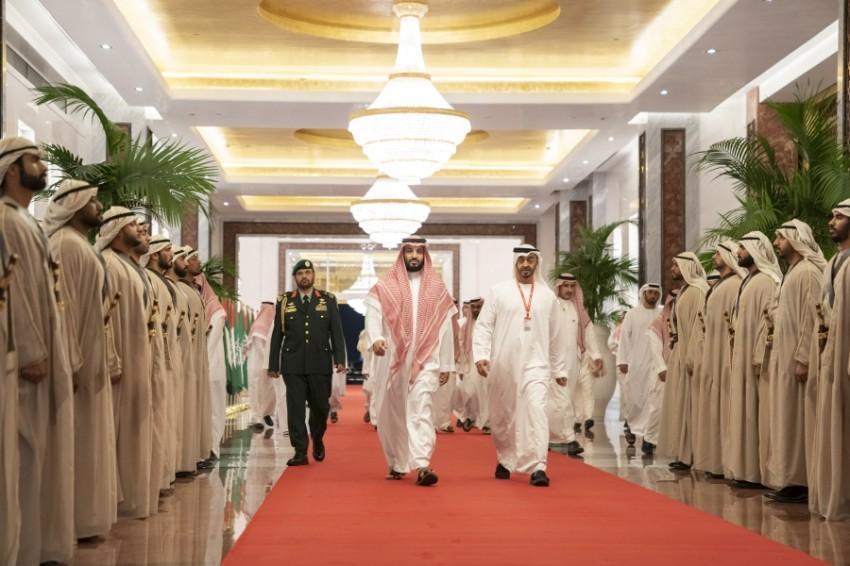 زيارة ولي العهد السعودي إلى الإمارات استغرقت أياماً عدة. (وام)