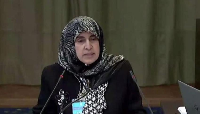 الدكتورة حصة عبدالله أحمد العتيبة سفيرة الامارات في هولندا (أرشيفية)