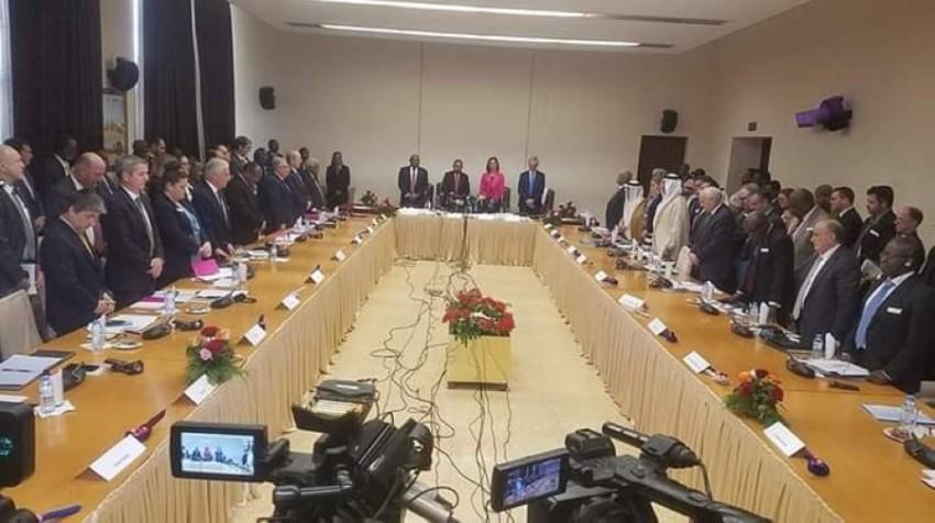 جانب من «ملتقى أصدقاء السودان» بالعاصمة الخرطوم الأربعاء. (الرؤية)