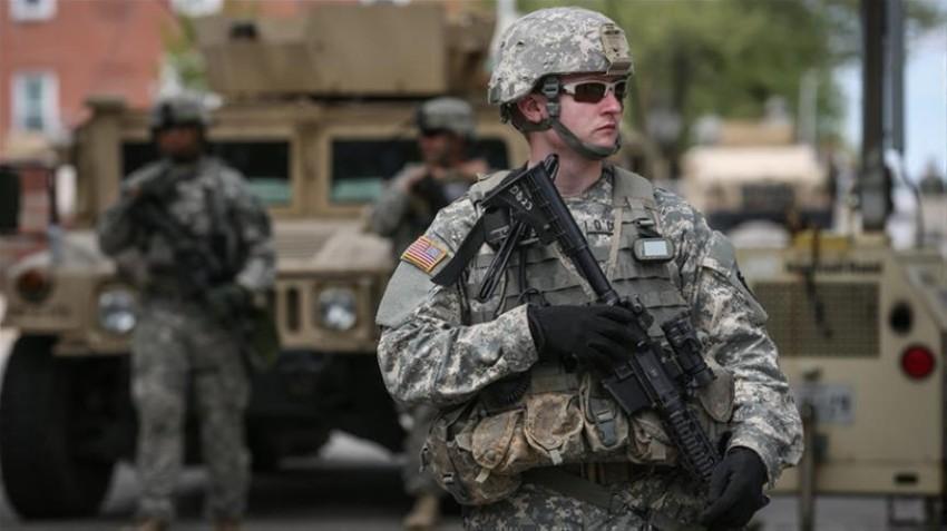 جندي تابع لمشاة البحرية الأمريكية بالعراق. (أرشيفية)