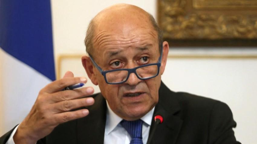وزير الخارجية الفرنسي جان إيف لودريان. (أرشيفية)
