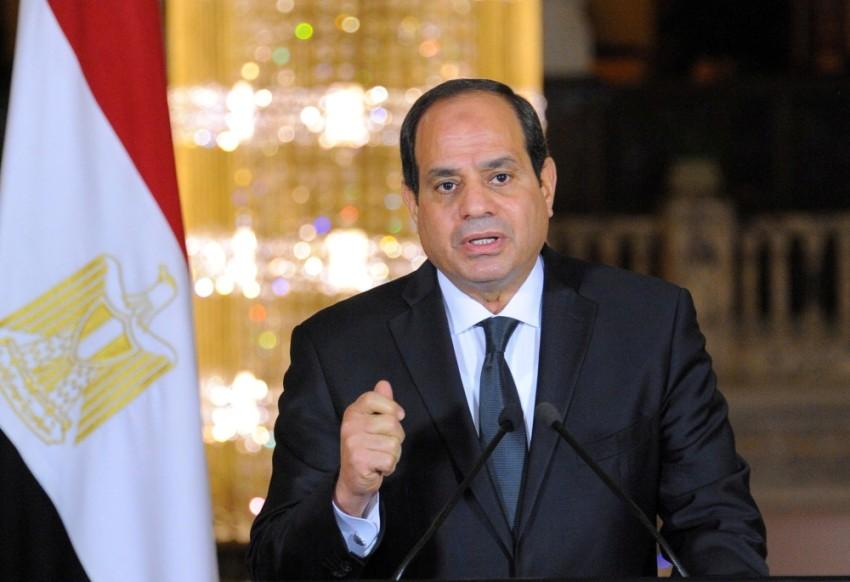 الرئيس المصري عبدالفتاح السيسي. (رويترز - أرشيفية)