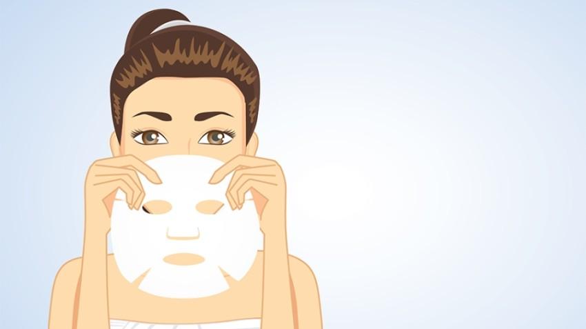 لا تقومي بغسل الوجه بعد إزالة الماسك