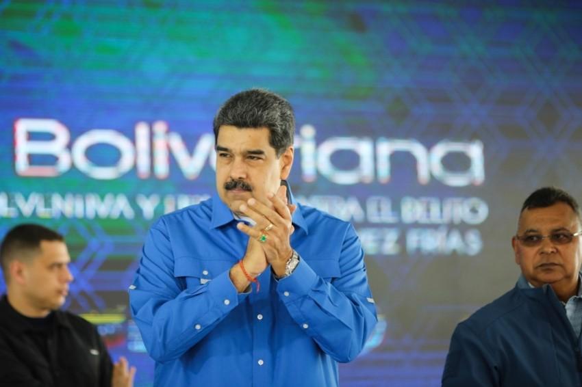 الرئيس الفنزويلي مادورو (أ ف ب)