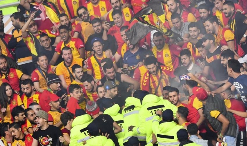 جماهير الترجي التونسي تشتكي من سوء المعاملة