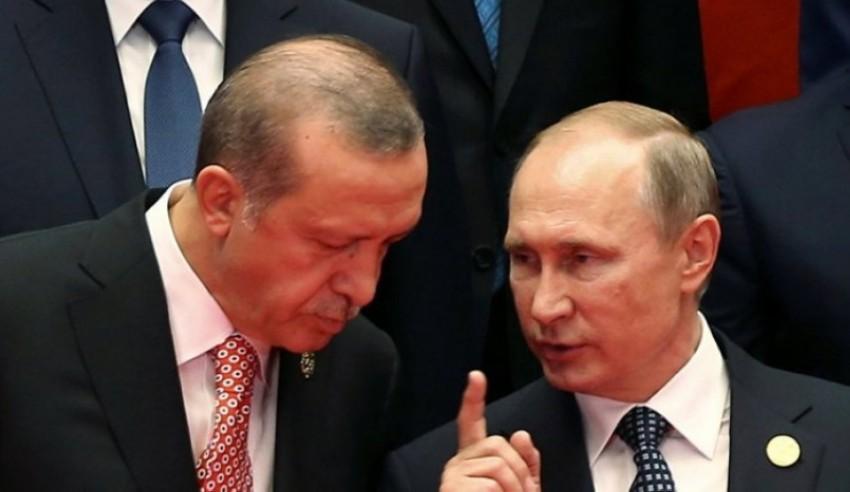 بوتين يتحدث إلى أردوغان (أرشيفية)