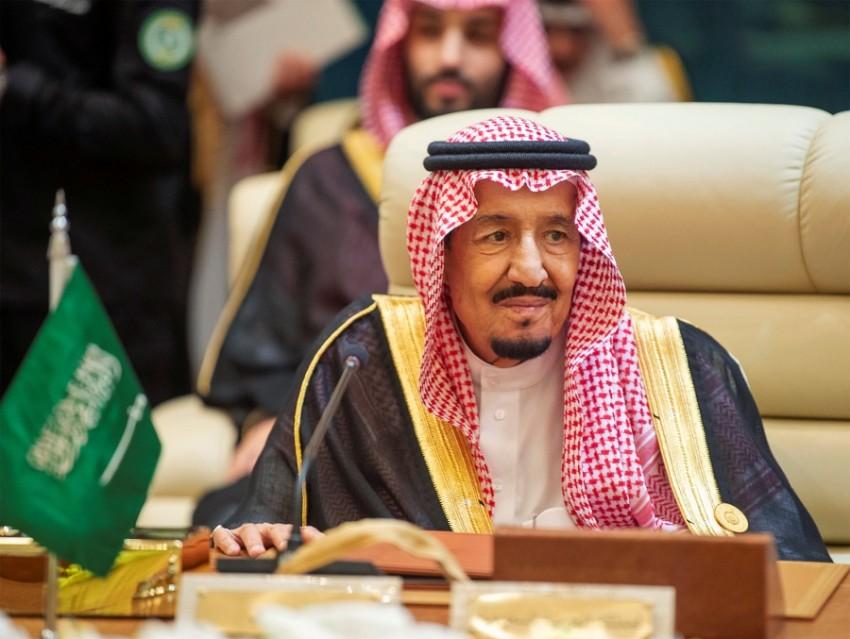 خادم الحرمين الشريفين الملك سلمان بن عبد العزيز آل سعود في مكة. (رويترز)