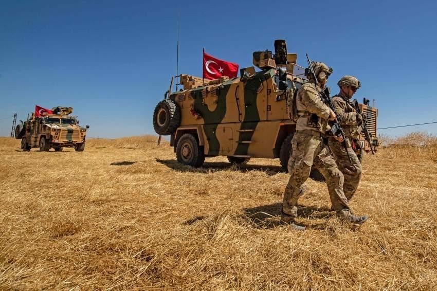 صورة أرشيفية لقوات تركية في سوريا