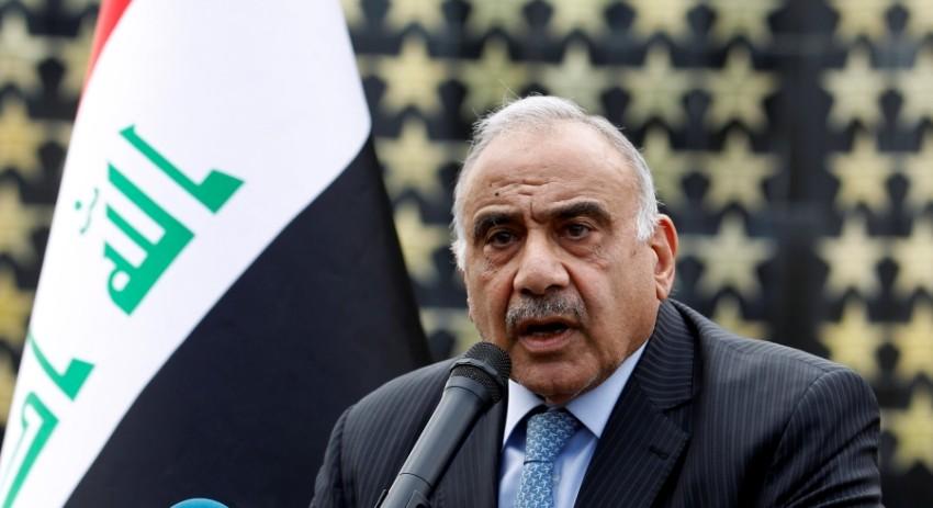 رئيس الوزراء العراقي عادل عبدالمهدي في بغداد. (رويترز)