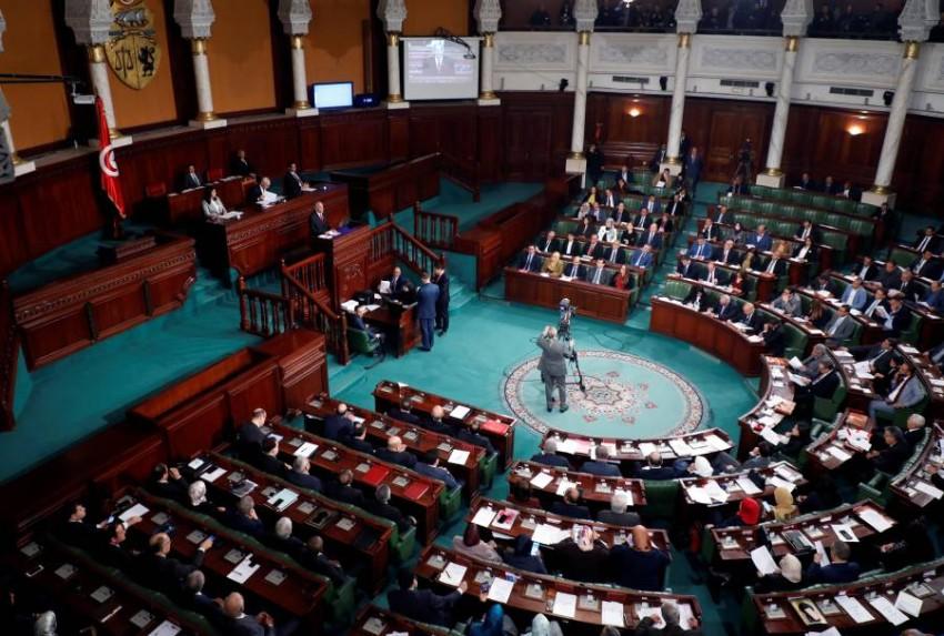 جلسة للبرلمان التونسي للتصويت على الحكومة الجديدة. (رويترز)