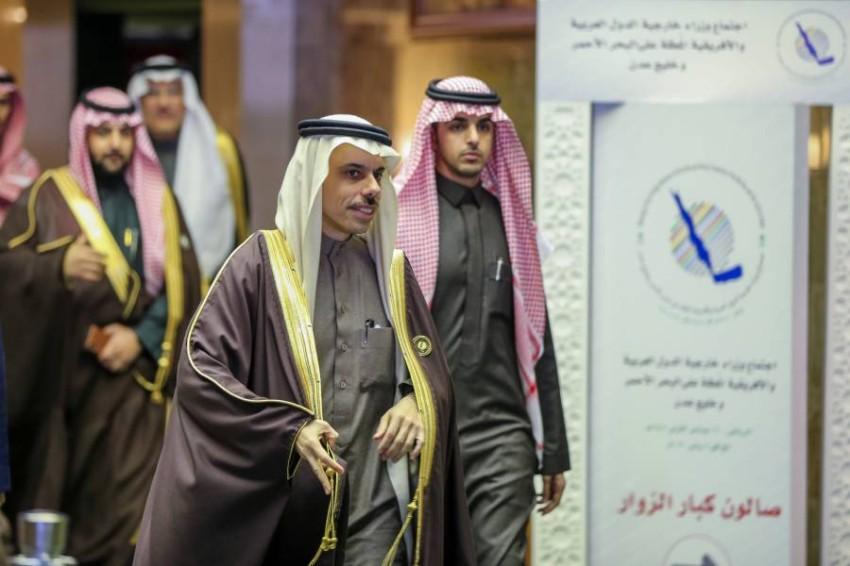 وزير الخارجية السعودي الأمير فيصل بن فرحان في الرياض. (رويترز)