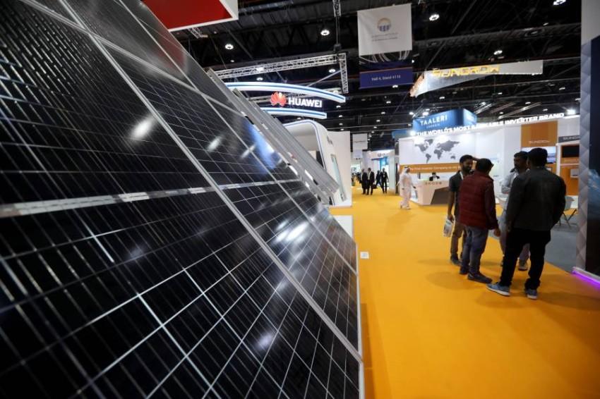معرض القمة العالمية لطاقة المستقبل في ابوظبي 14 01 2020
