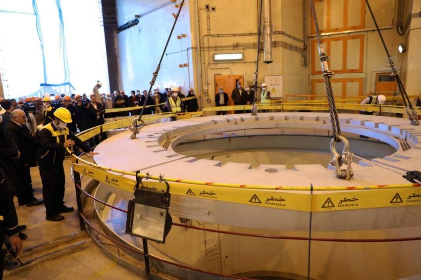مفاعل أراك النووي للماء الثقيل في إيران. (رويترز)