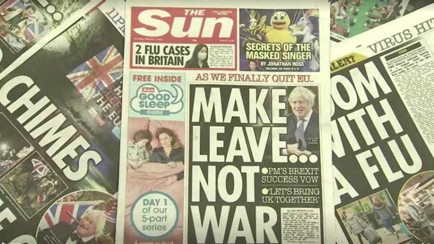 الصحف البريطانية بعد بركست