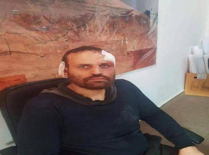 الإرهابي هشام عشماوي بعد القبض عليه. (أرشيفية)