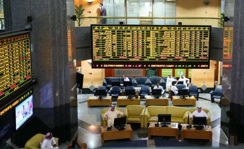 سوق أبوظبي المالي. (الرؤية)