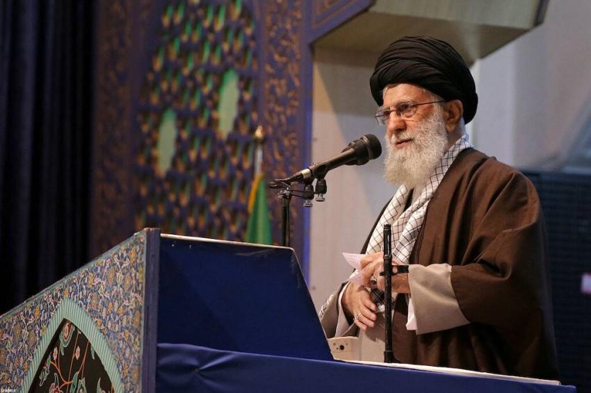 المرشد الإيراني علي خامنئي. (رويترز)