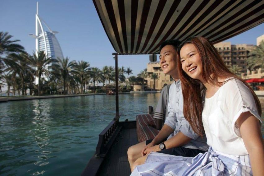 السياح الصينيون.