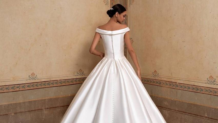 أحدث صيحات فساتين زفاف 2020