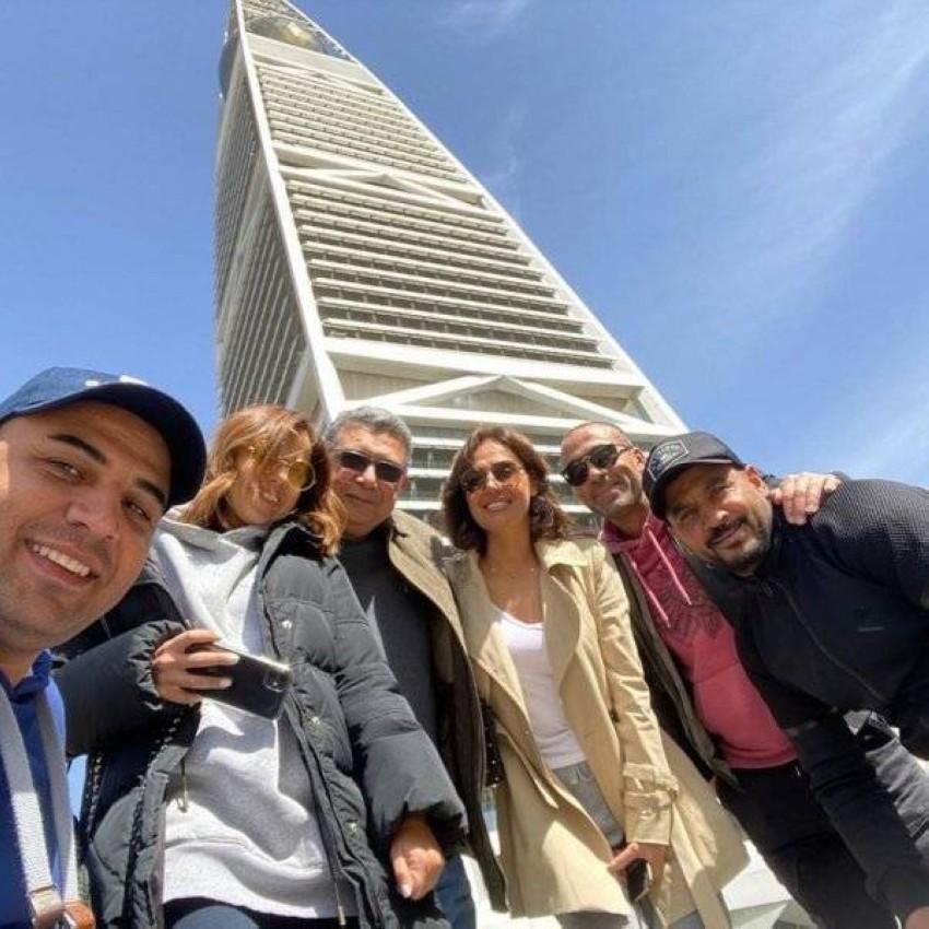 نجوم الفيلم في الرياض