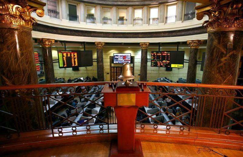 البورصة المصرية (رويترز)