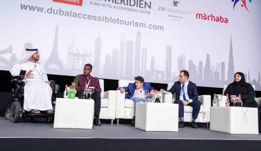 قمة دبي العالمية لتسهيل سياحة أصحاب الهمم.
