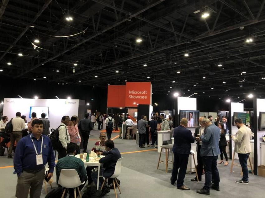 مؤتمر «مايكروسوفت إجنايت ذا تور 2020» في دبي.