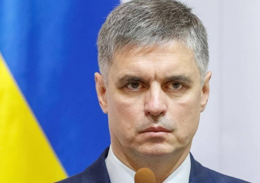 وزير خارجية أوكرانيا، فاديم بريستايكو (أرشيفية)