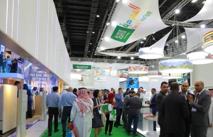 خلال مشاركة السعودية في الدورة السابقة من سوق السفر العربي. (الصورة من المصدر)