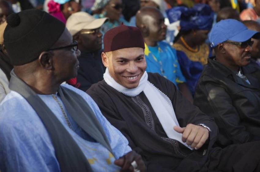 نجل الرئيس السنغالي السابق كريم واد.