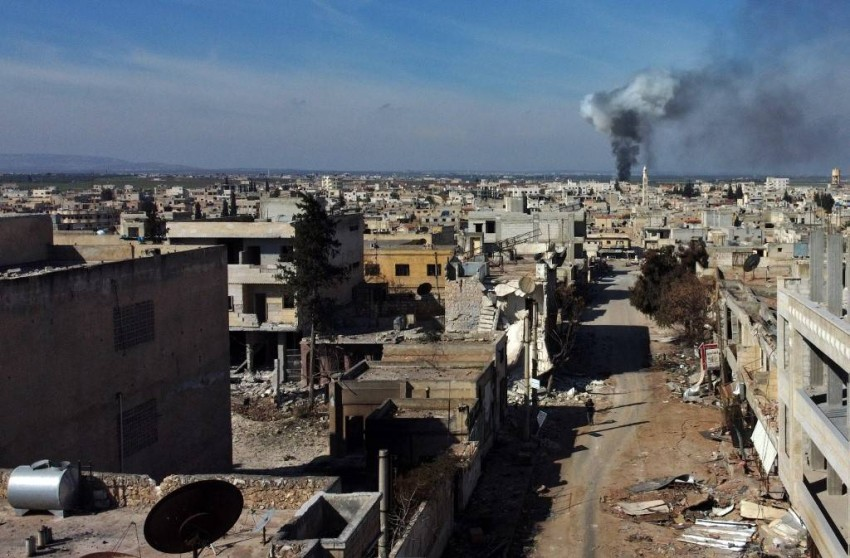 تركيا تستهدف مطارين في ريف حلب