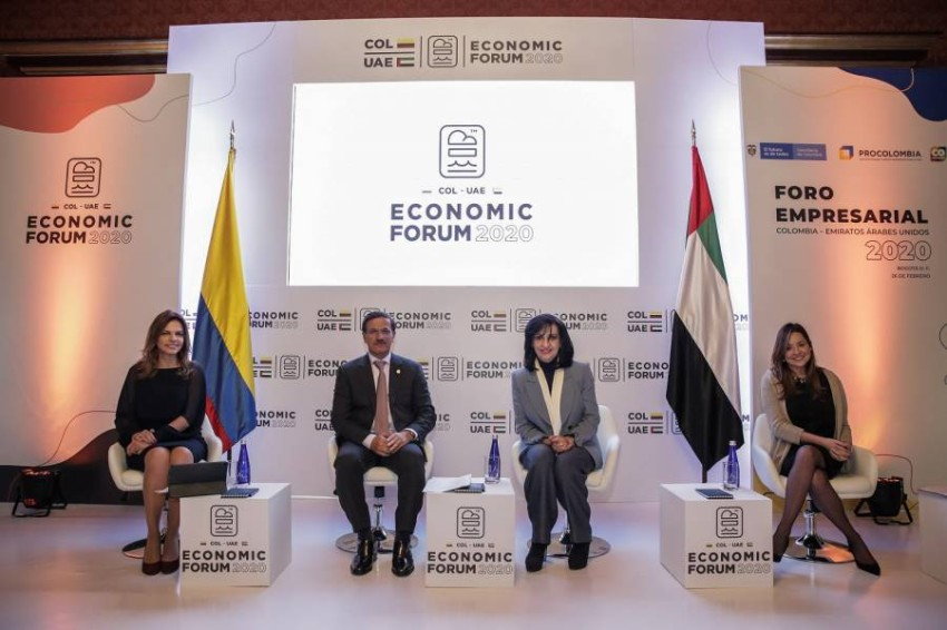 المنتدى الاقتصادي الإماراتي الكولومبي يستكشف فرص الشراكة بين قطاعي الأعمال