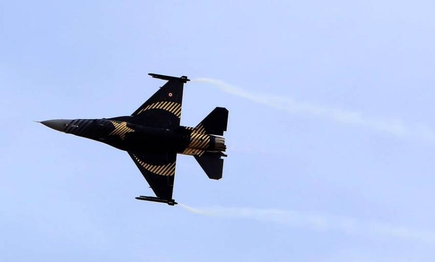طائرة أف16 تركية (أرشيفية)