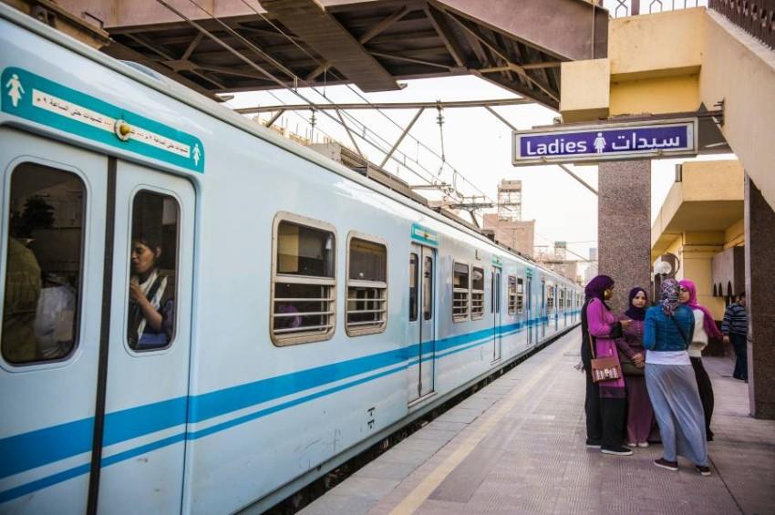 مترو القاهرة. (الرؤية)