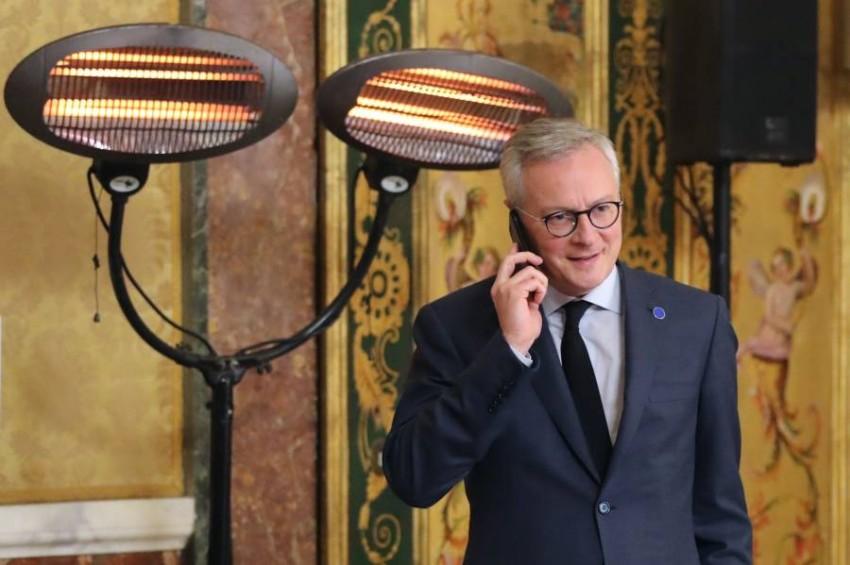 وزير المالية الفرنسي. (أ ف ب)