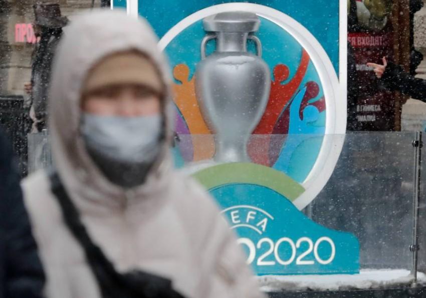 الاتحاد الأوروبي لكرة القدم (يويفا) يلتزم الهدوء بشأن مصير كأس الأمم الأوروبية. (رويترز)