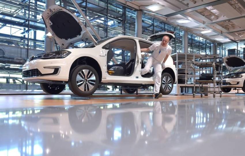 خط إنتاج سيارة فولكسفاجن