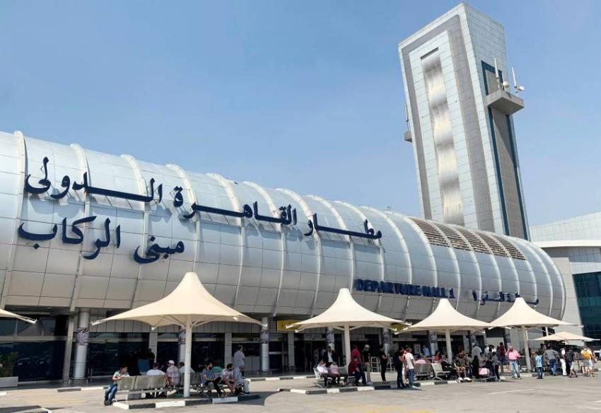 مطار القاهرة الدولي. (رويترز)