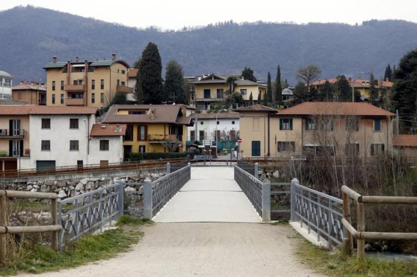شوارع خالية في إيطاليا. (إي بي أيه)