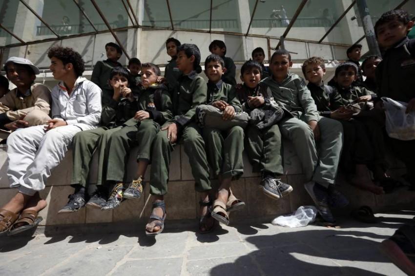 أكثر من 2 مليون طالب تسربوا من التعليم بسبب الصراع الدائر في اليمن. (إيه بي أيه)