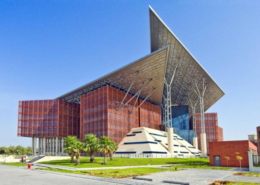 مبنى دائرة القضاء في أبوظبي. (من المصدر)